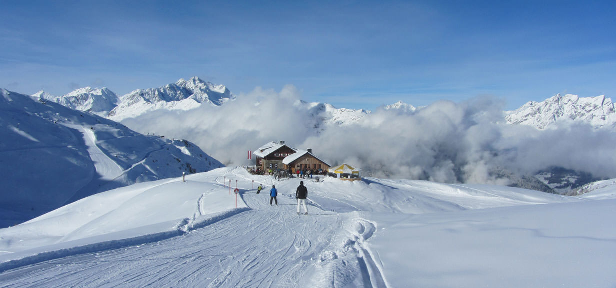 Holidays in the austrian alps