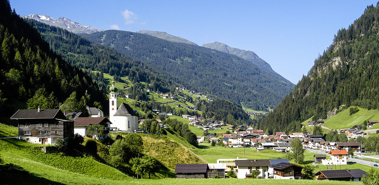 Summer holidays in See in the paznaun valley in Tyrol - Austria